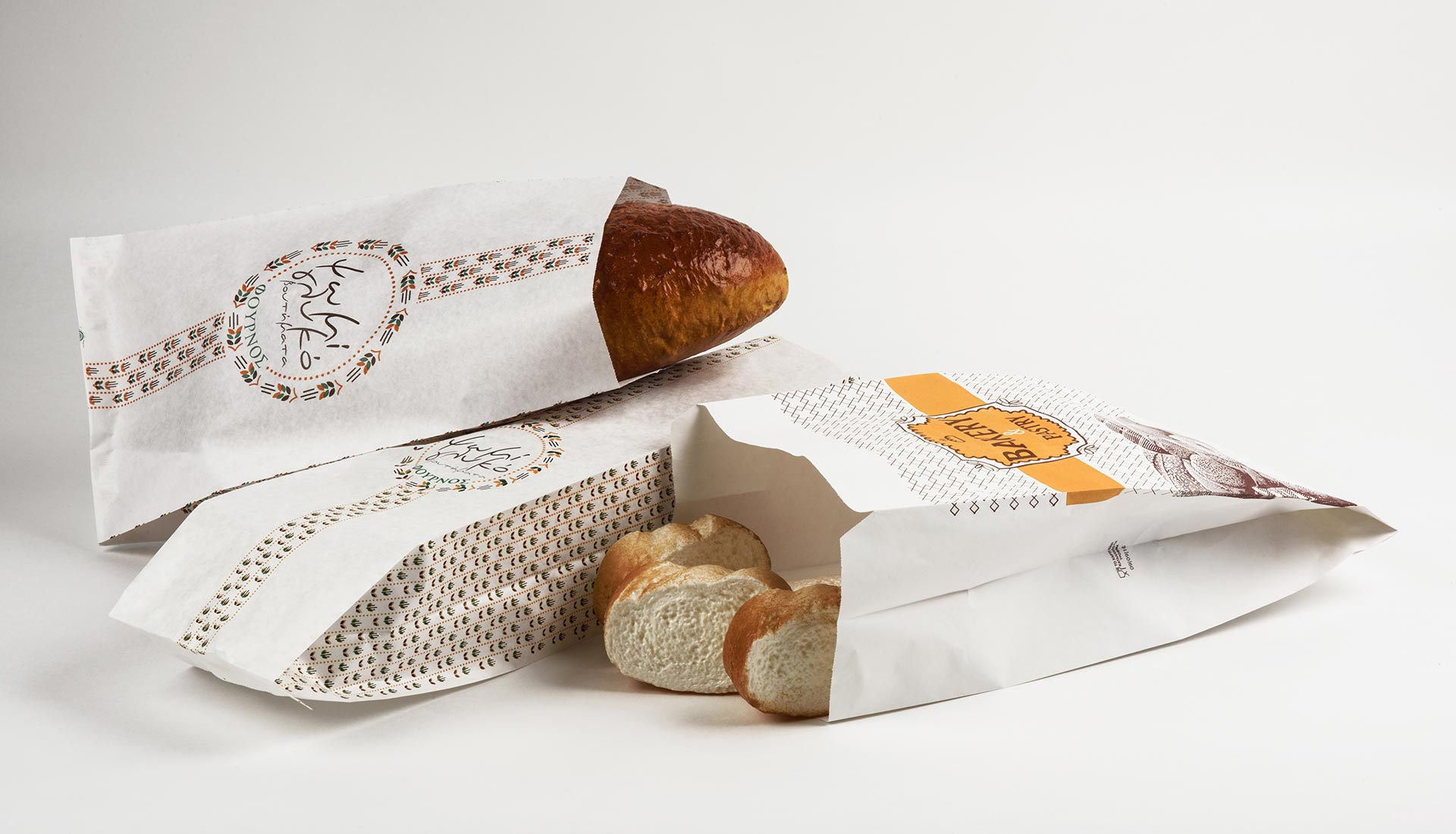 Paper bags for bakery & pastry