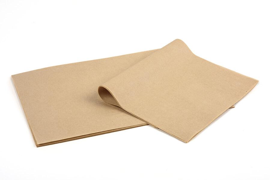Βεζεταλ καφέ ατύπωτο- Χαρτί περιτυλίγματος - Δερμάνης